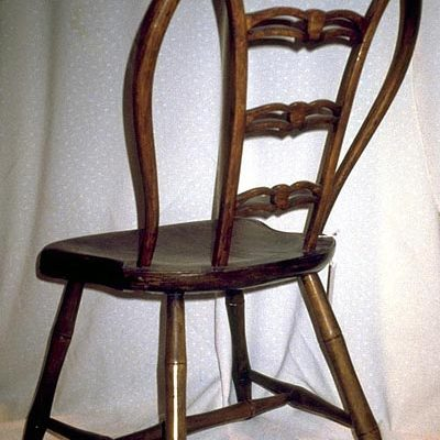 Windsor chair attributed to John Chambers, Trenton, New Jersey, about 1790 - 1800