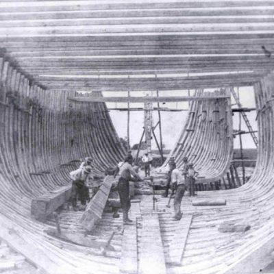 Shipbuilders at Dennisville