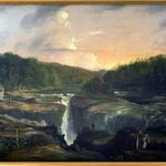 """Passaic Falls, Autumn"" by Thomas W. Whitley"
